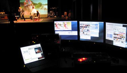 kuva Kolme Sisarta -teatteriesityksestä