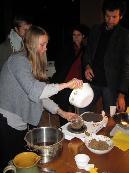 vodka making